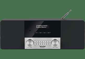 TECHNISAT DIGITRADIO 4 DAB+ Radio, DAB+, Bluetooth, Schwarz/Silber
