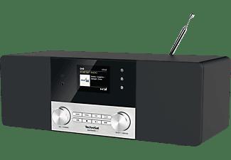 TECHNISAT DIGITRADIO 4 C DAB+ Radio, DAB+, Bluetooth, Schwarz/Silber