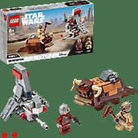 LEGO T-16 Skyhopper™ vs Bantha™ Microfighters Bausatz, Mehrfarbig