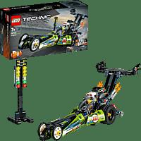LEGO Dragster Rennauto Bausatz, Mehrfarbig