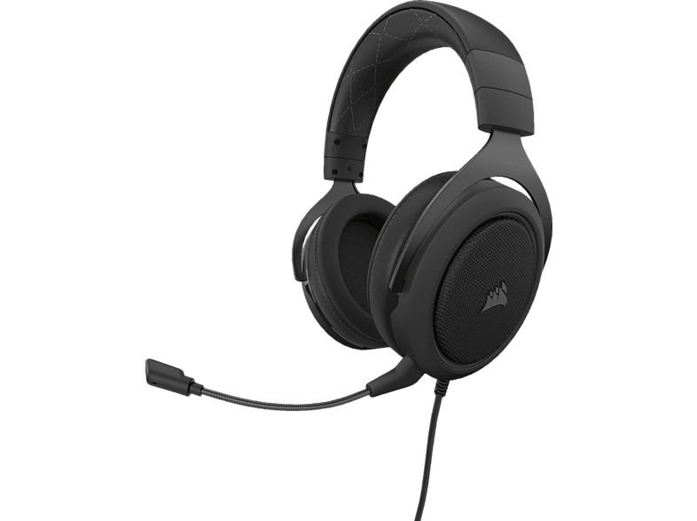 CORSAIR HS60, Over-ear Gaming Headset Carbon