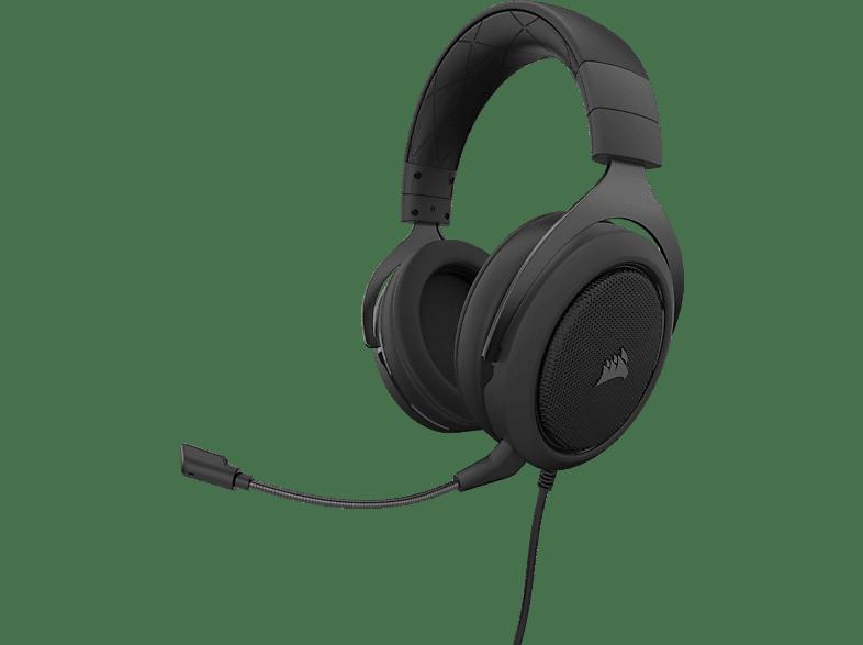 CORSAIR HS50 PRO, Over-ear Gaming Headset Schwarz