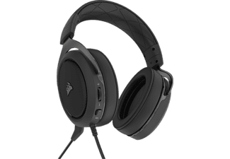 CORSAIR HS50 PRO, Over-ear Gaming Headset Schwarz