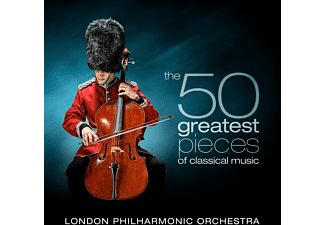 David Parry, The London Philharmonic Orchestra - The 50 Greatest Pieces of Classical Music  - (CD)