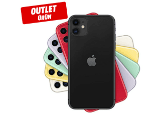 APPLE iPhone 11 64GB Akıllı Telefon Siyah Outlet 1204550