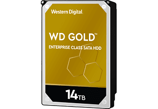 WESTERN DIGITAL WD Gold Enterprise Class SATA - Disco rigido (HDD, 14 TB, Argento/Nero)