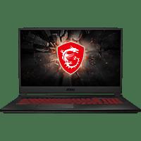 MSI GL75 9SE-228, Gaming Notebook mit 17.3 Zoll Display, Core™ i7 Prozessor, 16 GB RAM, 256 GB SSD, 1 TB, GeForce RTX™ 2060, Schwarz