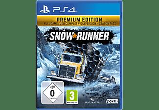 Snowrunner Premium Edition FR/NL PS4