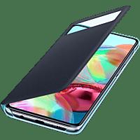 SAMSUNG EF-EA715 , Bookcover, Samsung, Galaxy A71, Polyurethan, Polycarbonat, Schwarz