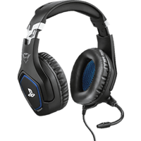 TRUST GXT 488 FORZE, Over-ear Gaming-Headset für PS4™ Schwarz