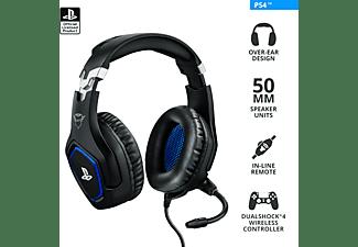 TRUST GXT 488 FORZE, Over-ear Gaming Headset Schwarz