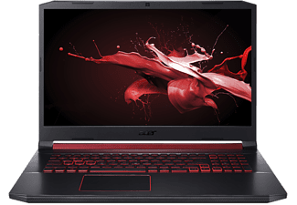 ACER Gaming Notebook Acer Nitro 5 AN517-51-787X, schwarz, i7-9750H, GTX1660Ti, 16GB, 512GB (NH.Q5DEV.01D)