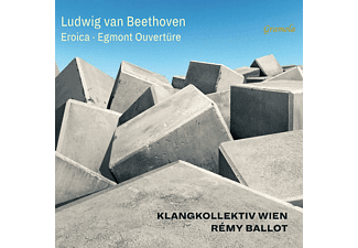 Remy Ballot, Klangkollektiv Wien - Sinfonie 3 Eroica/Egmont-Ouvertüre  - (CD)