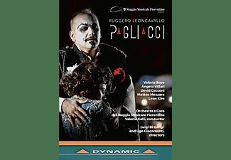 Valeria Sepe, Angelo Villari, Devid Cecconi, Matteo Mezzaro - Pagliacci  - (DVD)