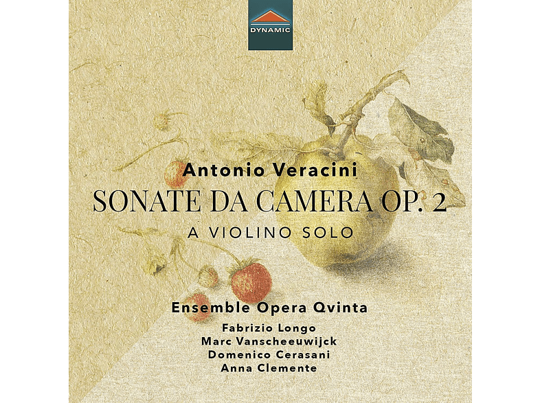 Ensemble Opera Qvinta - SONATE DA CAMERA OP. 2 [CD]