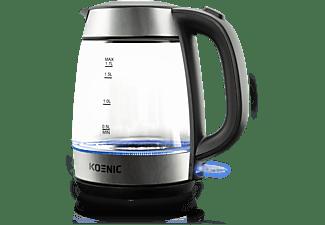 KOENIC KWK 2220 Wasserkocher, Edelstahl/Weiß