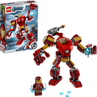 LEGO Iron Man Mech Bauset, Mehrfarbig