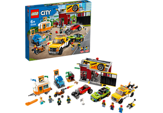 LEGO 60258 Tuning-Werkstatt Spielset, Mehrfarbig