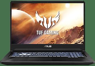 ASUS TUF Gaming (FX705DT-AU033T), Gaming Notebook mit 17,3 Zoll Display, Ryzen™ 7 Prozessor, 8 GB RAM, 256 GB SSD, 1 TB HDD, GeForce GTX™ 1650, Stealth Black