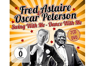 Fred Astaire, Oscar Peterson - Swing With Me-Dance With Me.2CD+DVD  - (CD + DVD Video)
