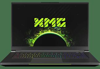 XMG FUSION 15 - L19jby, Gaming Notebook mit 15,6 Zoll Display, Core™ i7 Prozessor, 16 GB RAM, 500 GB SSD, NVIDIA GeForce GTX 1660 Ti | 6 GB GDDR6, Schwarz