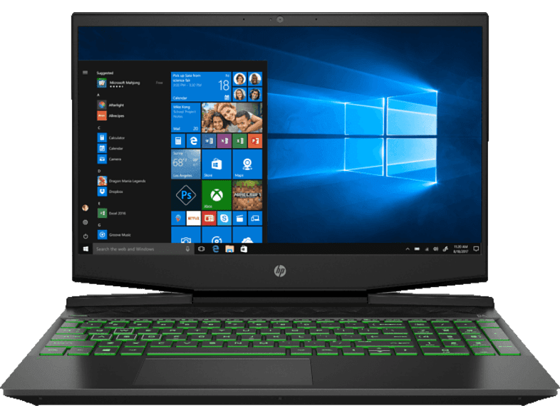 HP Gaming laptop Pavilion 15-dk0011nb Intel Core i5-9300H (6SZ60EA#UUG)