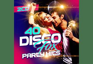 VARIOUS - 40 Disco Fox Party Hits  - (CD)