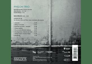 Philon Trio - 8 PIECES, OP.83  - (CD)
