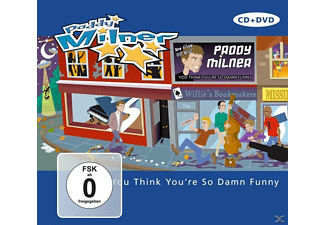 Paddy Milner - You Think You Re So Damn Funny  - (DVD + CD)