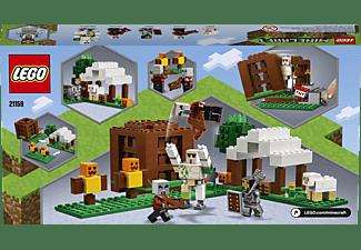 LEGO 21159 Der Plünderer-Außenposten Bausatz, Mehrfarbig