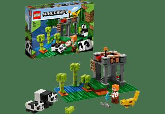 LEGO 21158 Der Panda-Kindergarten Bausatz, Mehrfarbig