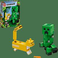 LEGO BigFig Creeper™ und Ozelot Spielset, Mehrfarbig