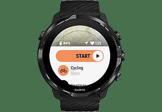 SUUNTO 7 Smartwatch Verstärktes Polyamid Silikon, Universal, Schwarz