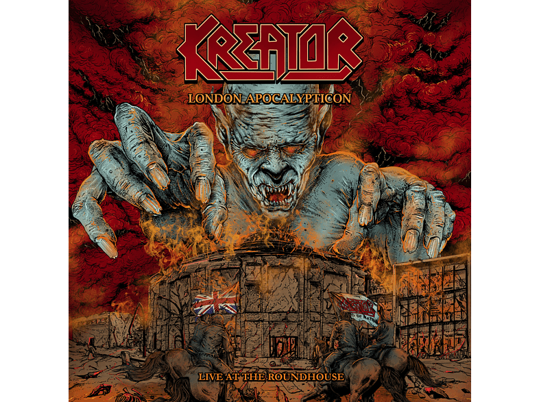 Kreator - London Apocalypticon-Live at the Roundhouse CD