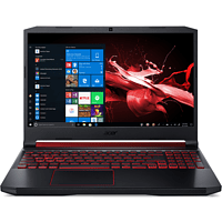 ACER Nitro 5 (AN515-54-526S), Gaming Notebook mit 15,6 Zoll Display, Core™ i5 Prozessor, 8 GB RAM, 512 GB SSD, GeForce® GTX 1650, Schwarz/Rot
