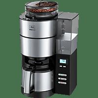 MELITTA AromaFresh Therm 1021-12 Filterkaffeemaschine mit Mahlwerk Schwarz/Edelstahl