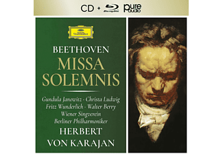 Herbert von Karajan, Berliner Philharmoniker - Missa Solemnis (+Pure Audio) - (CD + Blu-ray Audio)
