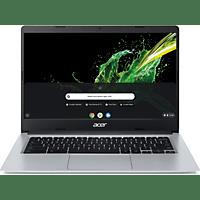 ACER Chromebook 15 (CB315-3HT-P297), Chromebook mit 15,6 Zoll Display, Pentium® Silver Prozessor, 8 GB RAM, 128 GB eMMC, Intel® UHD Grafik 605, Silber