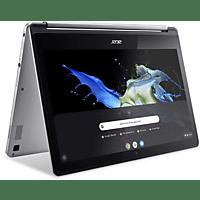 ACER Chromebook R 13 (CB5-312T-K467), Chromebook mit 13,3 Zoll Display Touchscreen, 4 GB RAM, 64 GB eMMC, PowerVR GX6250, Silber