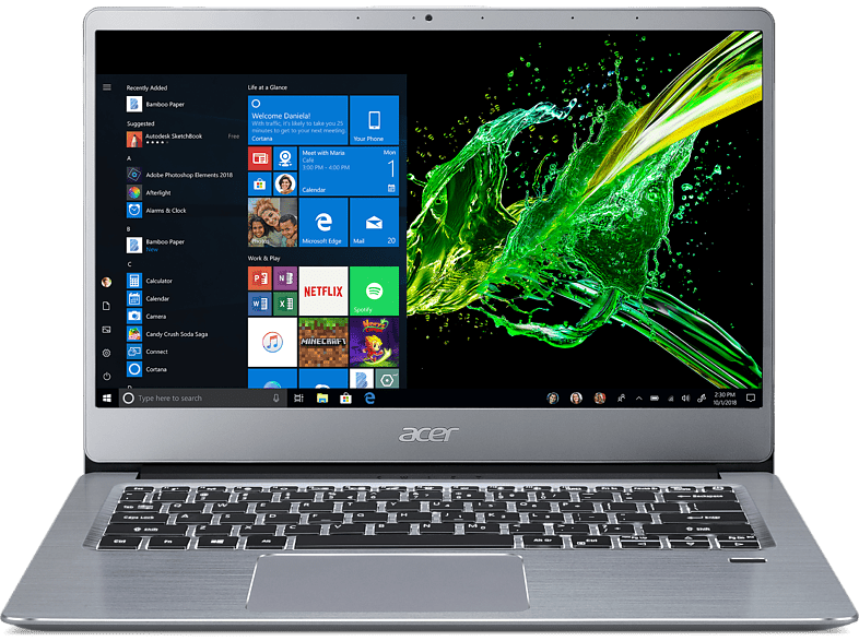 ACER Laptop Swift 3 SF314-58-70VY Intel Core i7-10510U (NX.HPMEH.008)