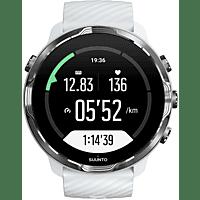 Smartwatch - Suunto 7, 48h, Más de 70 modos deporte, Mapas offline, Sumergible, Google, White Burgundy