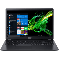 ACER Aspire 3 (A315-54-34RS), Notebook mit 15.6 Zoll Display, Core™ i3 Prozessor, 8 GB RAM, 512 GB SSD, Intel® UHD Grafik, Schwarz