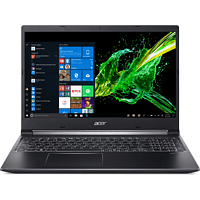 ACER Aspire 7 (A715-74G-71CP), Gaming Notebook mit 15,6 Zoll Display, Core™ i7 Prozessor, 8 GB RAM, 512 GB SSD, GeForce® GTX 1050, Schwarz