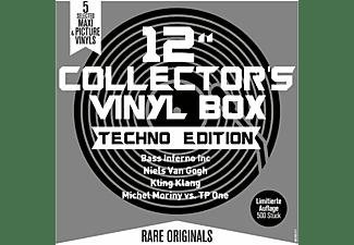 """VARIOUS - 12"""" Collector s Vinyl Box-Techno Edition  - (Vinyl)"""