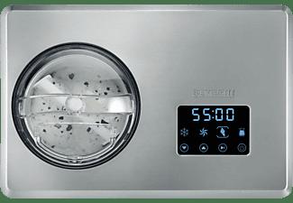 SEVERIN EZ 7406 Eismaschine (180 Watt, Edelstahl gebürstet)