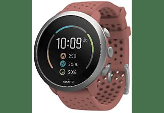 Reloj deportivo - Suunto 3 Fitness, Rojo, GPS, Seguimiento actividad y sueño, Estrés y recuperación