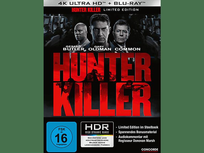 Hunter Killer (Limited Steelbook) [4K Ultra HD Blu-ray + Blu-ray]