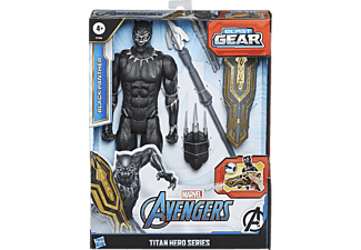 HASBRO Avengers Titan Hero Serie Black Panther Figur  Actionfigur  Mehrfarbig