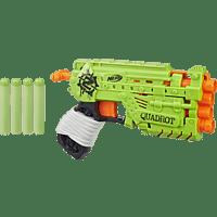 NERF Zombie Strike Quadrot Blaster Blaster, Mehrfarbig