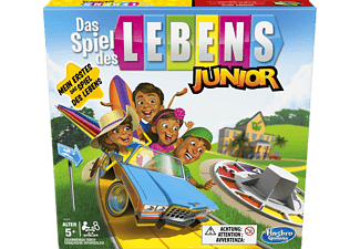 HASBRO GAMING Spiel des Lebens Junior Kinderspiel Mehrfarbig
